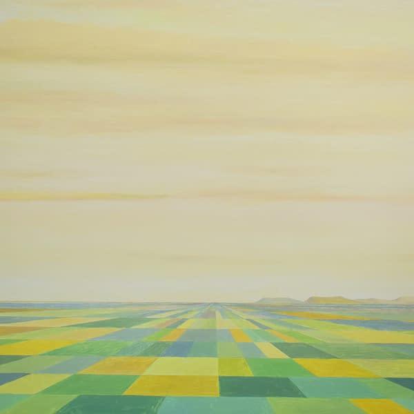 campos de la tierra mía, título de un poema de Antonio Machado. Obra de Marietta Negueruela.