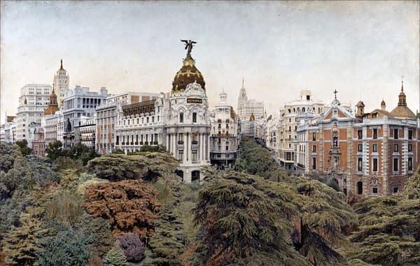 Madrid Emboscado 2. 100x162 cm. scaled