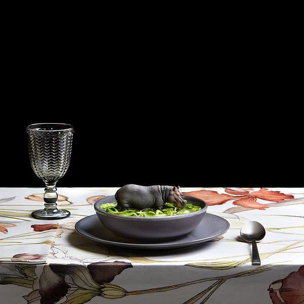 Sopa Número 27. Comprar Arte Online de Miguel Vallinas.