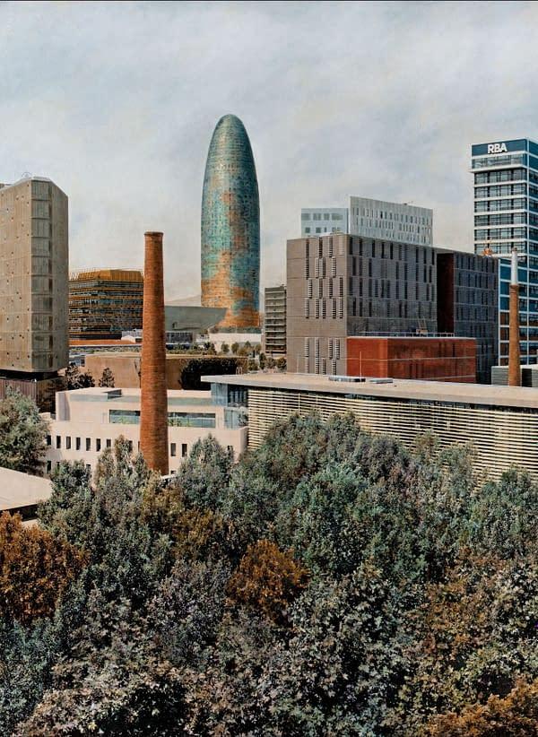 Nou Poble Nou. Barcelona. 100x146 cm scaled