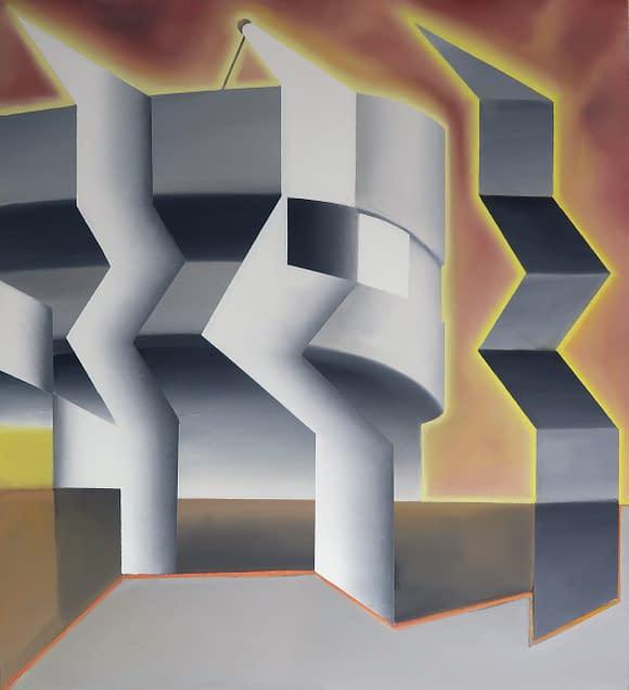 Comprar arte online. Antonio Rojas. Abstracción geométrica.