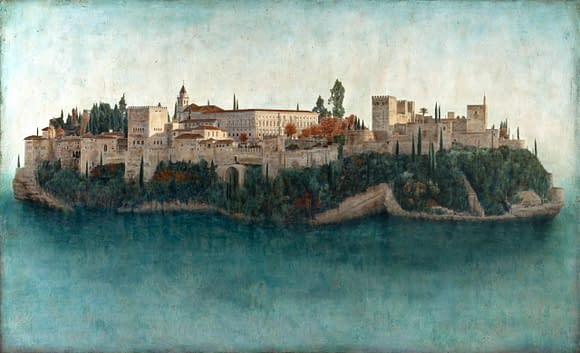 La isla Magica. Alhambra. 146x89 cm scaled