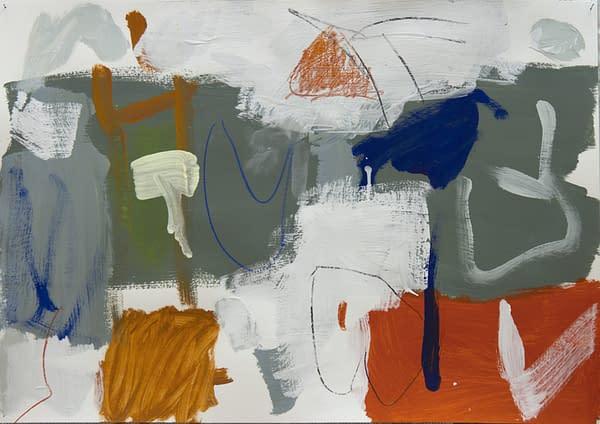 Stimmung50 x 70 cm 2016- Artista Eduardo Vega de Seoane. Pintura, Abstracción lírica, Expresionismo abstracto, Expresionismo lírico, pintura poética.