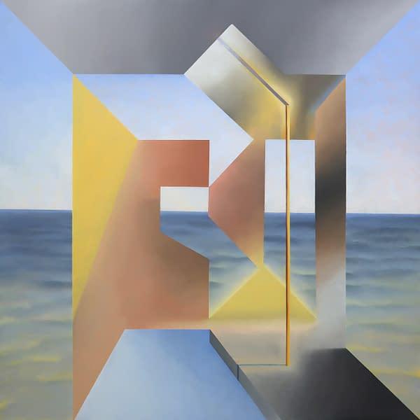 """Comprar arte online de Antonio Rojas,Malevivh after Hockney after Hogarth""""1."""