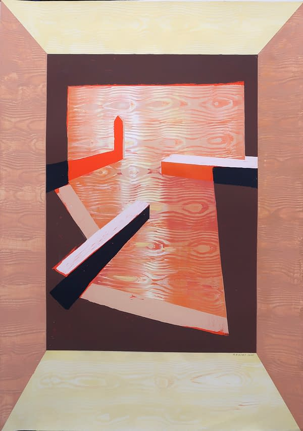 Día tras Día. Obra de Antonio Rojas Pintor .Comprar arte online.