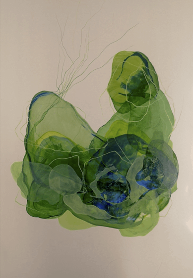 Sueños en Verde. Comprar Arte Online de Patricia Mayoral.