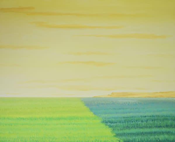 Trigo y cebada, obra de Marietta Negueruela.