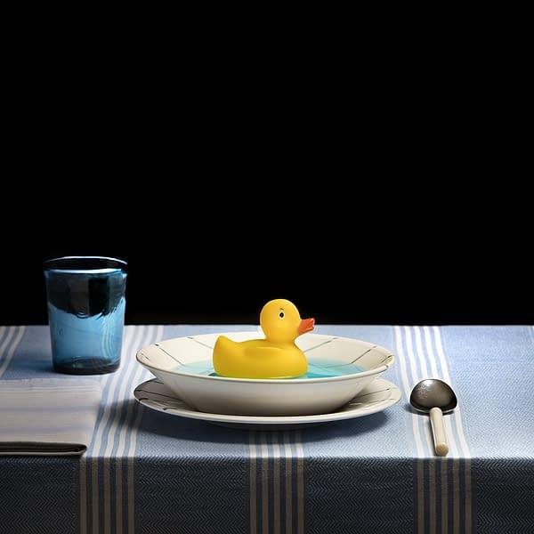 Fotografía Artística, comprar Fotografía de Miguel Vallinas, fotógrafo de Valladolid. Sopa Número 2,_ Pato de goma_ Entensuppe aus Gummi