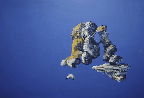 Nunca deseé tanto 2020. Comprar Arte Online de Patricia Mayoral. Artista contemporánea, óleo sobre papel, simbolismo, sensualidad, plasticidad.