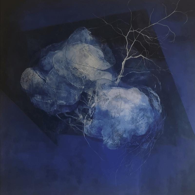 Luna de Noche. Comprar Arte Online de Patricia Mayoral. Artista contemporánea.