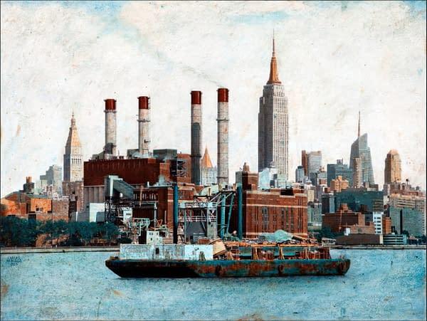 Midtown Manhattan 46x61 cm. scaled