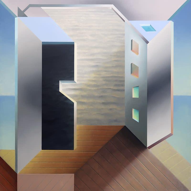Comprar Arte Online, Antonio Rojas,Malevivh after Hockney after Hogarth 3