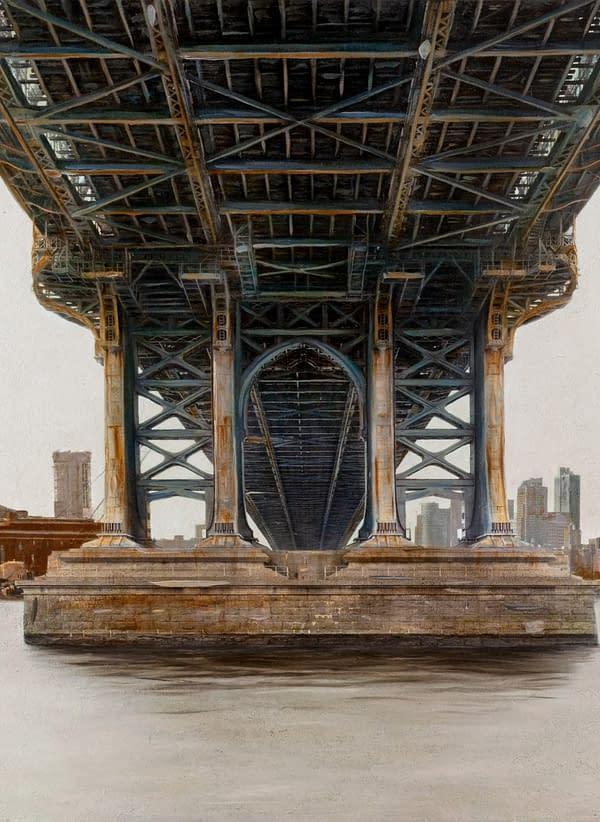 Manhattan Bridge 81x146 cm scaled