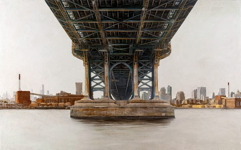 Manhattan Bridge 81x146 cm scaled