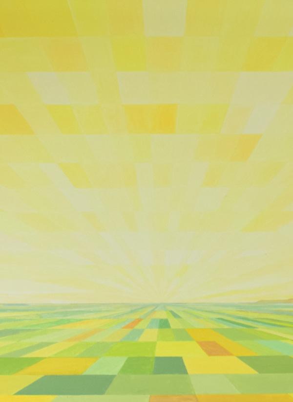 Al sol de abril, obra de Marietta Negueruela.