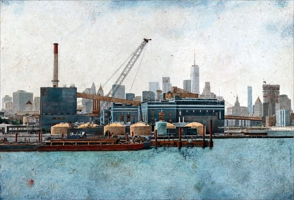 Broklyn Navy Yard. 54x81 cm. scaled