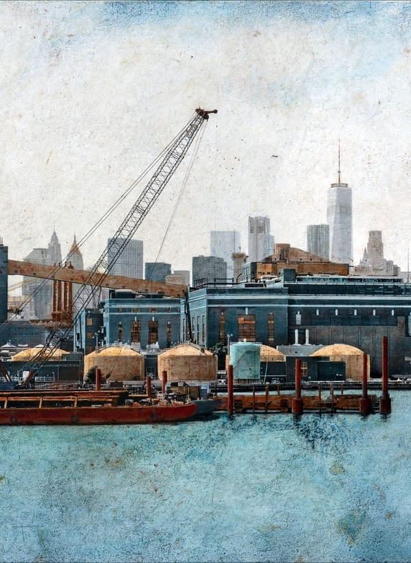 Broklyn Navy Yard. 54x81 cm. scaled