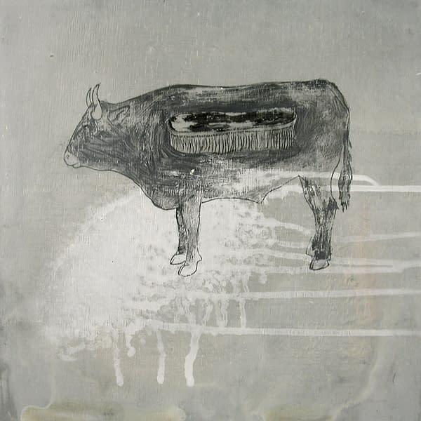 E006 La Vaca y lustrada 30x30 1
