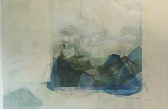 Entre dos bosques. Comprar Arte Online de Patricia Mayoral.