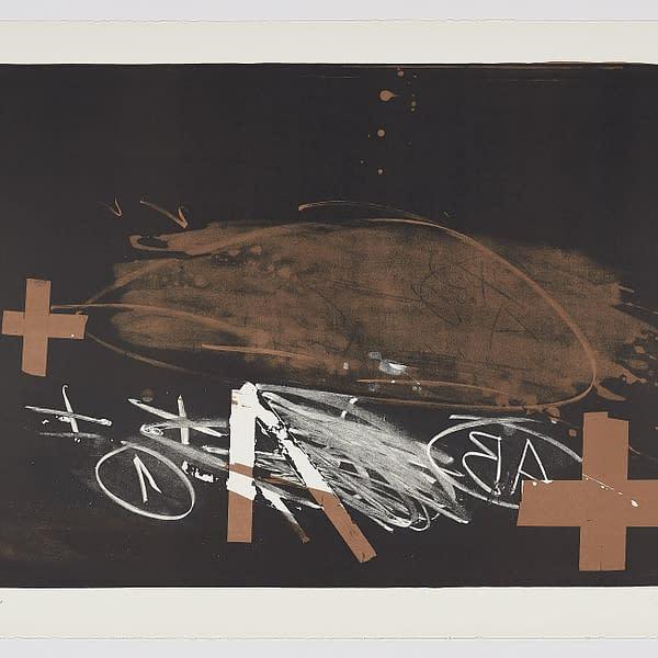 A-effacé-Antoni-Tápies, comprar obra gráfica online. Expresionismo abstracto.