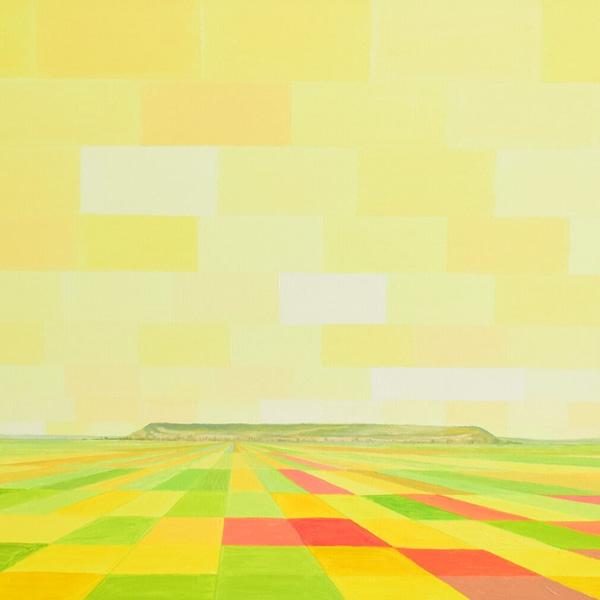 El paisaje de Castilla está en el cielo.Obras de Marietta Negueruela.
