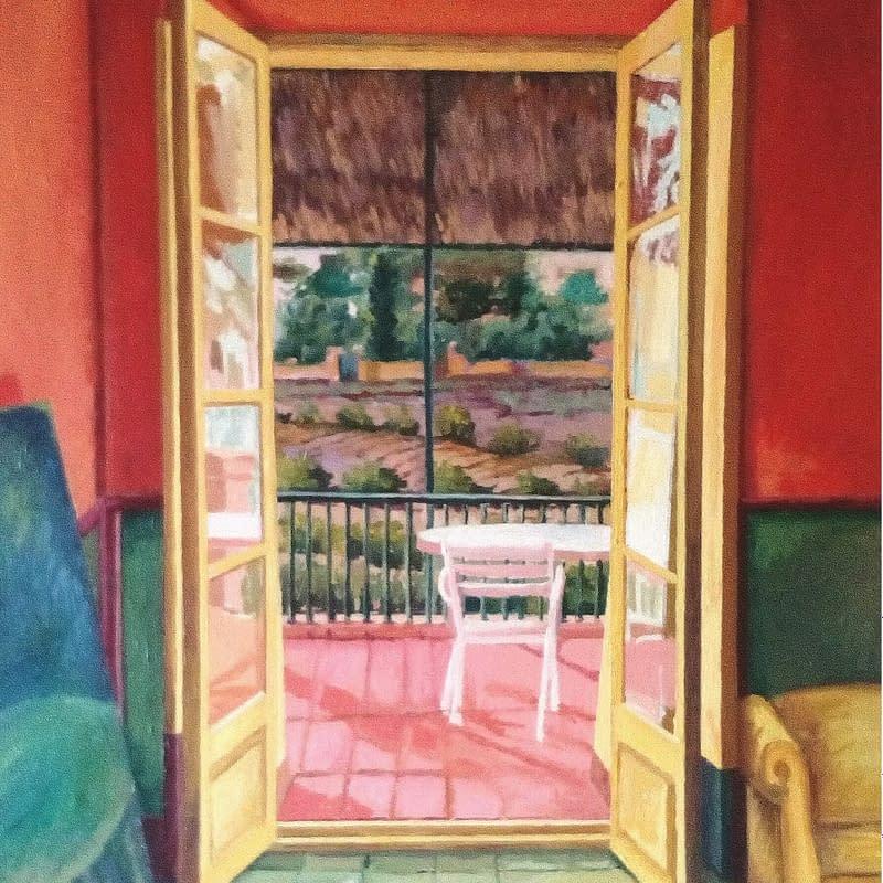 Mi casa de Génova, obra de Marietta Negueruela.